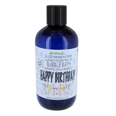 Happy Birthday Gift Bubble Bath SLS & Paraben Free